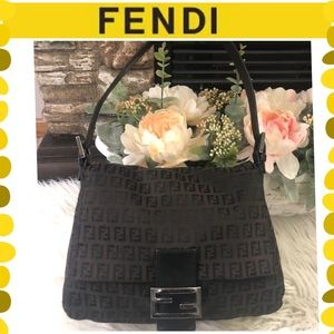 Authentic Fendi Mamma Baguette bag